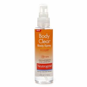 Poduct Review; Body Clear Body Spray By Neutrogena