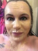 24 Kt Gold Mask: Wet